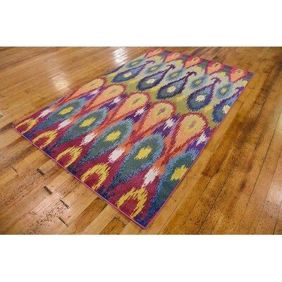 Radeema Ikat Area Rug Rug Size: 5' x 8'