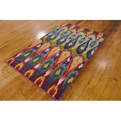 Radeema Ikat Area Rug Rug Size: 3'3