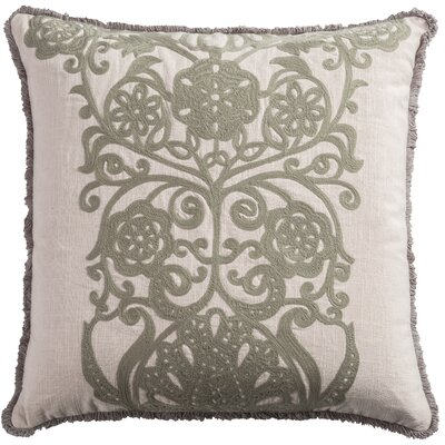Laguna Cotton Slub Throw Pillow Color: Light Pink