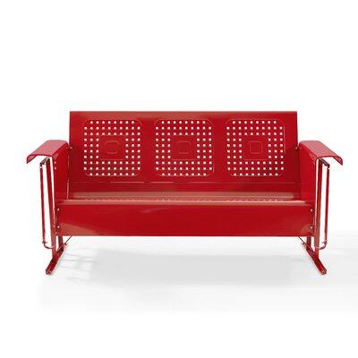 Elienor Glider Sofa Finish: Red
