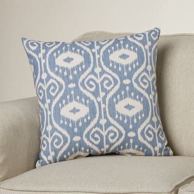 Diondre 100% Cotton Throw Pillow Size: 18 H x 18 W