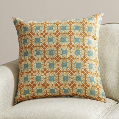 Slauson Indoor/Outdoor Throw Pillow Color: Sundance