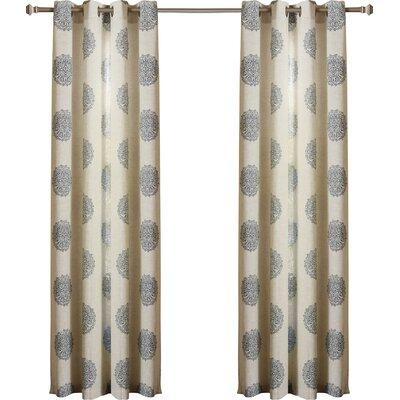 Buren Medallion Curtain Panel