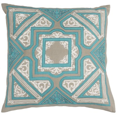 Elyseum Throw Pillow Color: Teal
