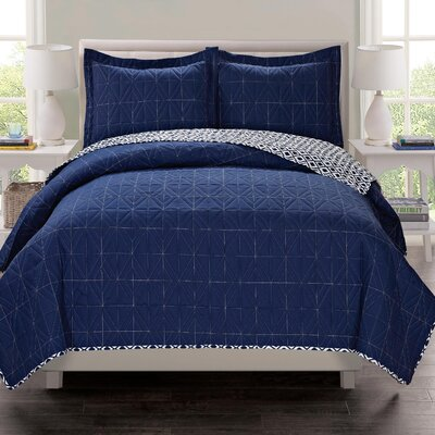 Penny Lane 3 Piece Quilt Set Size: Full/Queen