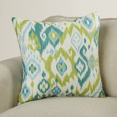 Hillerod 100% Cotton Throw Pillow Size: 18