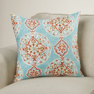 Debbagh Throw Pillow Size: 18 W x 18 D