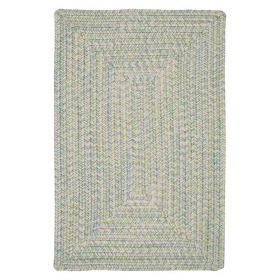 Huntington Hand-Woven Green/Gold Area Rug Rug Size: Runner 2 x 8