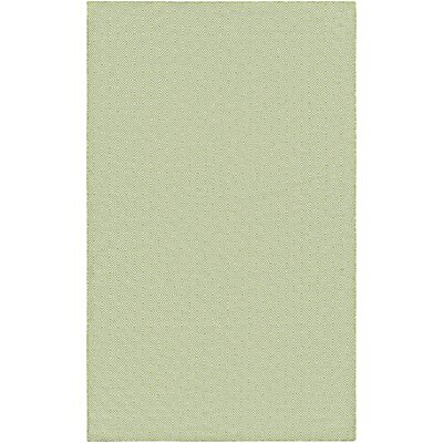 Alonso Hand-Woven Green Indoor/Outdoor Area Rug Rug Size: 5 x 8
