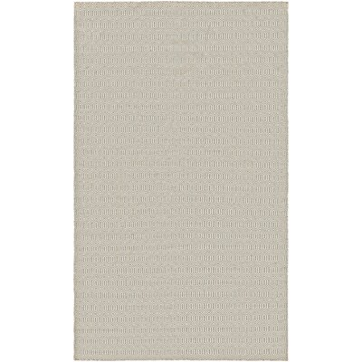 Alonso Hand-Woven Reversible Beige Indoor/Outdoor Area Rug Rug Size: Rectangle 5 x 8