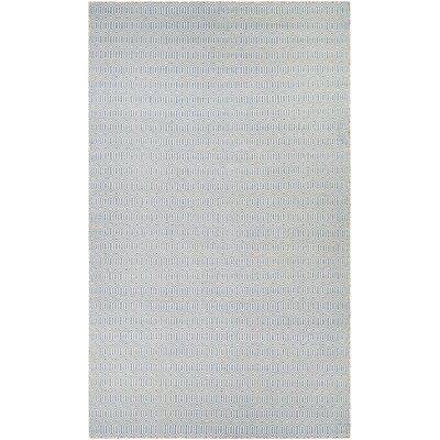 Alonso Hand-Woven Reversible Gray Indoor/Outdoor Area Rug Rug Size: 2 x 3