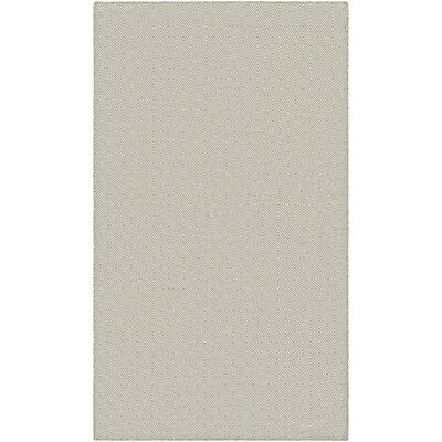 Alonso Hand-Woven Beige Indoor/Outdoor Area Rug Rug Size: Rectangle 2 x 3