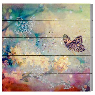Butterfly Dance Graphic Art Plaque