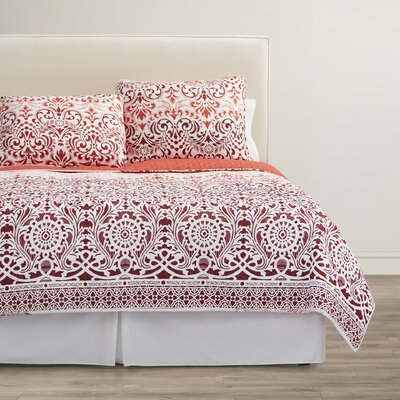 Estancia 3 Piece Reversible Quilt Set Size: Full / Queen