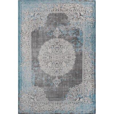 Durand Vintage Blue Area Rug Rug Size: 710 x 102
