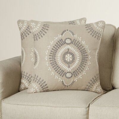 Akrima Linen Throw Pillow