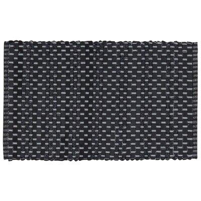 Aberdeen Black Area Rug Rug Size: 26 x 4