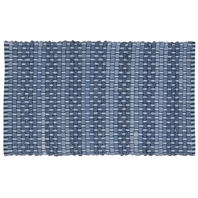Aberdeen Blue/DenimArea Rug Rug Size: Rectangle 26 x 4