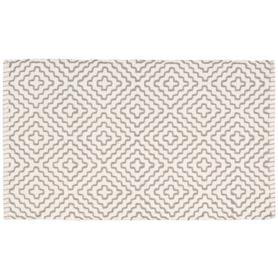 Charmine Beige/Gray Area Rug Rug Size: Rectangle 23 x 39
