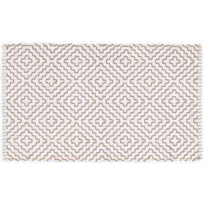 Charmine Beige/Gray Area Rug Rug Size: 19 x 210