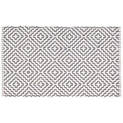 Charmine Black/Beige Area Rug Rug Size: Rectangle 19 x 210