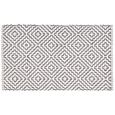 Charmine Black/Beige Area Rug Rug Size: 23 x 39