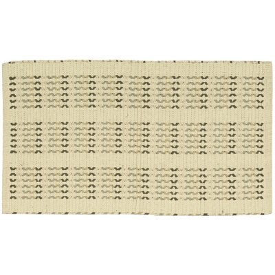 Charmine Beige Area Rug Rug Size: Rectangle 23 x 39