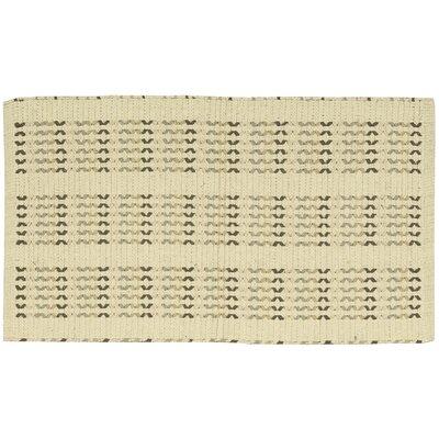 Charmine Beige Area Rug Rug Size: 23 x 39