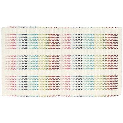 Charmine Blue/Pink Area Rug Rug Size: 23 x 39
