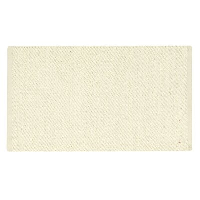 Angier White Area Rug Rug Size: 26 x 4