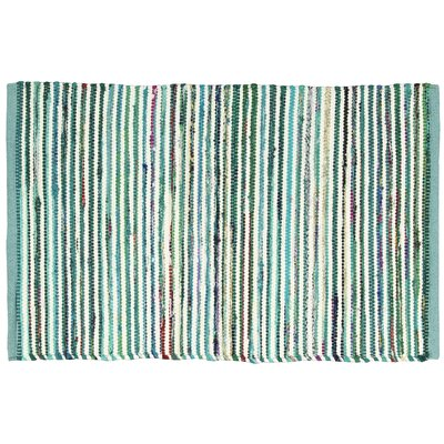 Anzac Aqua Area Rug Rug Size: Rectangle 26 x 4