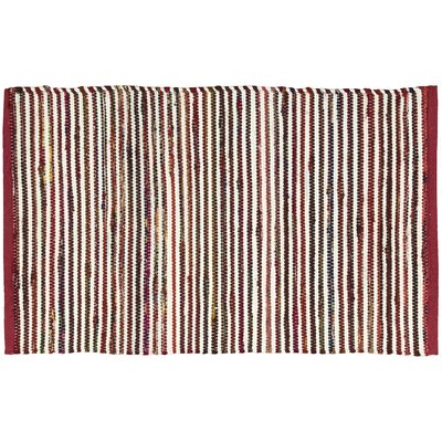 Anzac Red Area Rug Rug Size: Rectangle 2 x 3