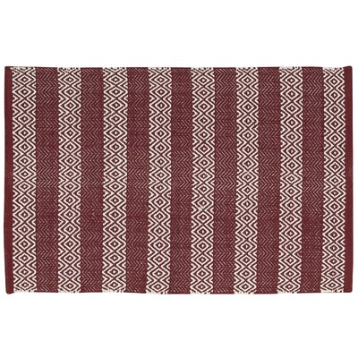 Arapaho Red Area Rug Rug Size: 26 x 4