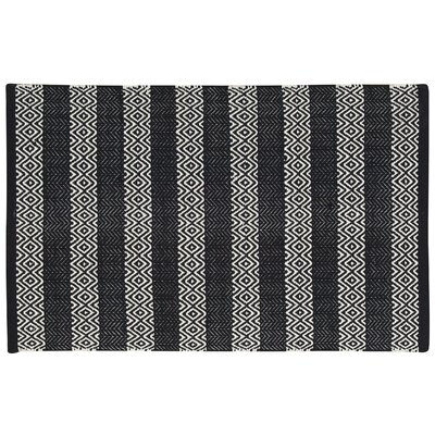 Arapaho Black Area Rug Rug Size: 26 x 4