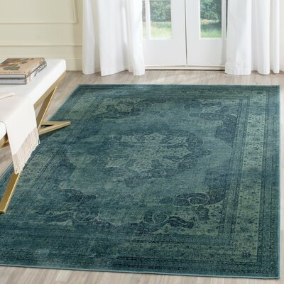 Todd Atkinson Blue / Multi Area Rug Rug Size: Rectangle 4 x 57