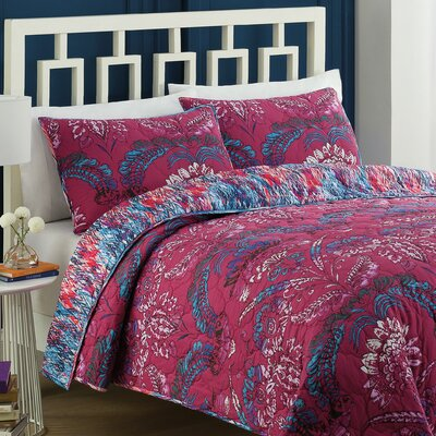 Bathurst Reversible Quilt Set Size: Full/Queen