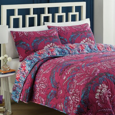 Bathurst Reversible Quilt Set Size: King