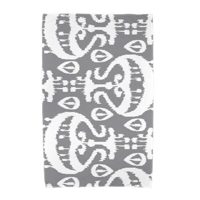Ikat Beach Towel Color: Gray