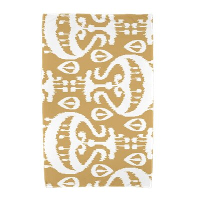 Ikat Beach Towel Color: Gold