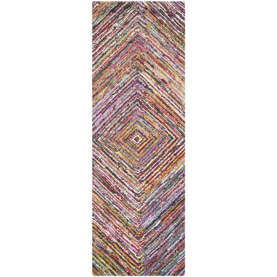 Anaheim Hand-Tufted Area Rug Rug Size: Runner 23 x 8
