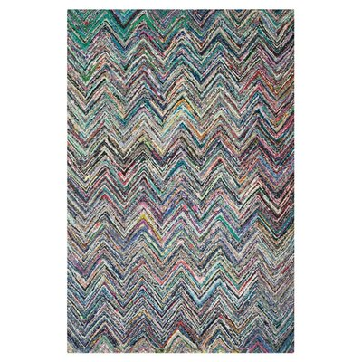 Sergio Hand-Tufted Multi Area Rug Rug Size: Rectangle 6 x 9