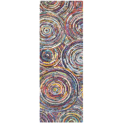 Sergio Hand-Tufted Area Rug Rug Size: Runner 23 x 7