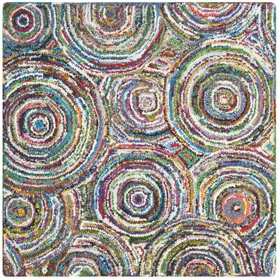 Sergio Hand-Tufted Area Rug Rug Size: Square 4
