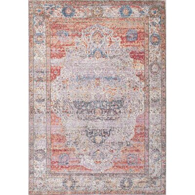 Chayne Blush Area Rug Rug Size: Rectangle 7'10
