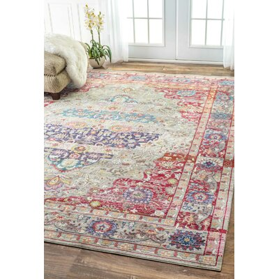Alexi Rug in Red