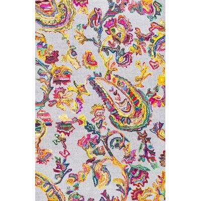 Huizar Hand-Tufted Area Rug Rug Size: 76 x 96