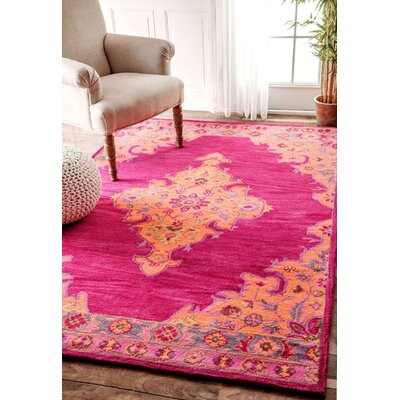 Hanson Rug in Pink