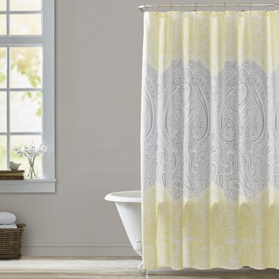 Laurence 14 Piece Shower Curtain Set Color: Yellow