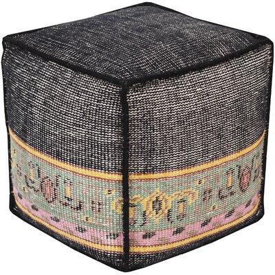 Gina Ikat Pouf Ottoman