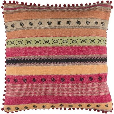Cammi Striped Cotton Throw Pillow